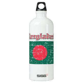 Grunge Flag of Bangladesh Water Bottle