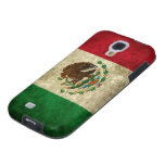 Grunge flag of Mexico Galaxy S4 Case