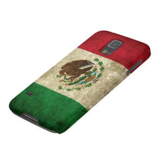 Grunge flag of Mexico Galaxy S5 Cover