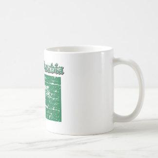 Grunge Flag of Saudi Arabia Coffee Mug