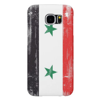 Grunge Flag of Syria. Samsung Galaxy S6 Cases