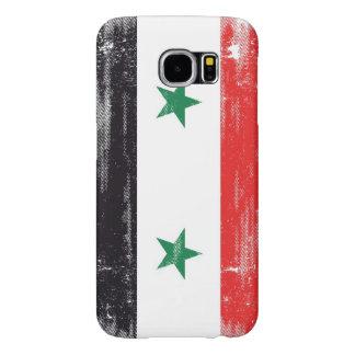 Grunge Flag of Syria. Samsung Galaxy S6 Case
