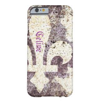 Grunge fleur de lis phone case iPhone 6 case