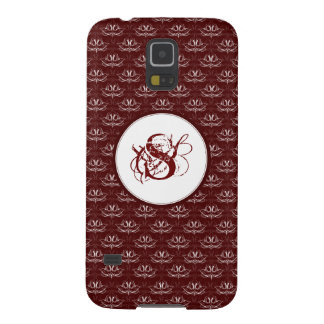 Grunge Floral: Blood Red Case For Galaxy S5