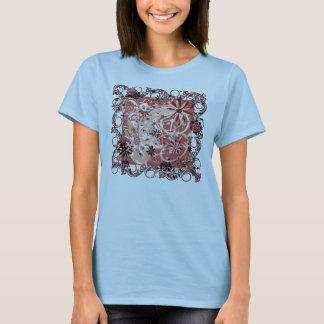 grunge floral image T-Shirt