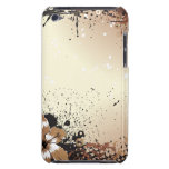 Grunge floral iPod touch fundas