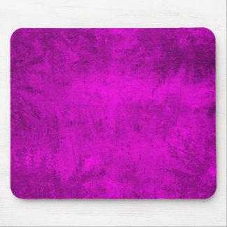 Grunge Floral Pink Illustration Mouse Pad