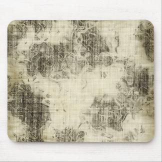 grunge floral tapete de ratón