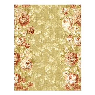 grunge,floral,vintage,damasks,wall paper,pattern, letterhead