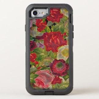 Grunge Flower Garden OtterBox Defender iPhone 7 Case
