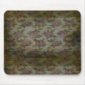 Grunge Flower Mouse Pad