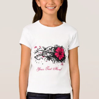 Grunge Flower T-Shirt