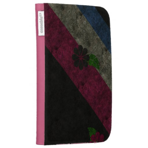 Grunge Flowers Case For Kindle