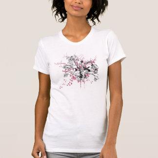 Grunge Flowers Shirt