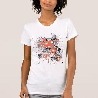 Grunge Flowers T-Shirt