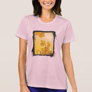Grunge Framed Narcissus Daffodil Retro Vintage T-Shirt