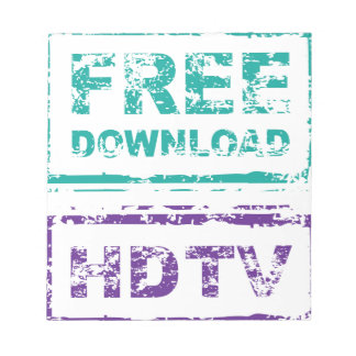 Grunge Free Download Stamp and HDTV stamp Notepad