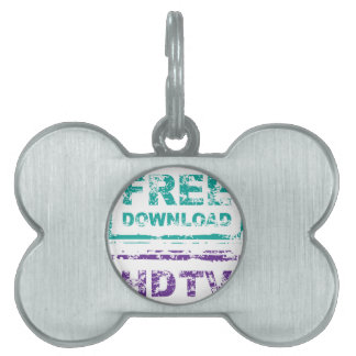 Grunge Free Download Stamp and HDTV stamp Pet Tag