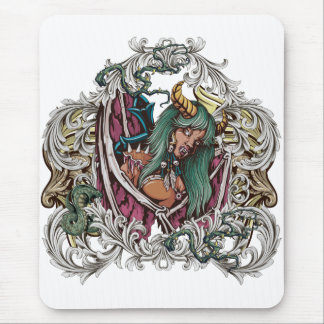 Grunge fresco Mousepads Vampress Tapete De Ratón