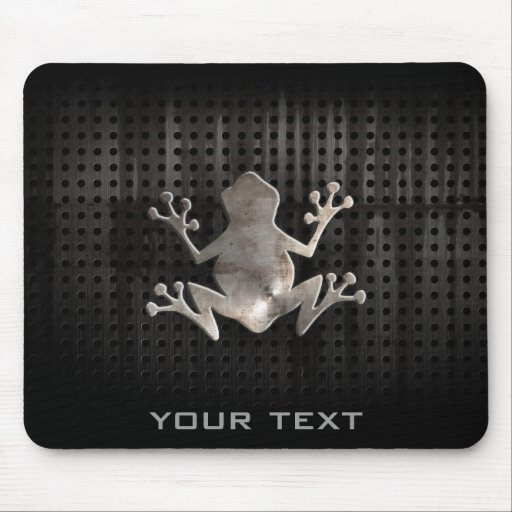 Grunge Frog Mouse Pads
