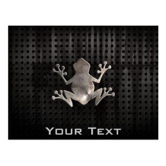Grunge Frog Postcard