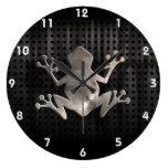 Grunge Frog Wall Clock