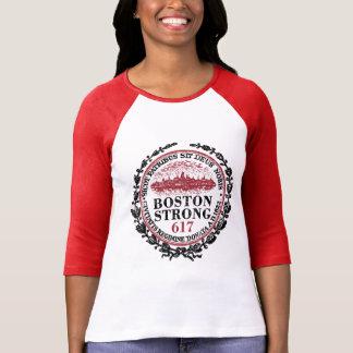 Grunge fuerte del sello de Boston Camisetas