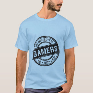Grunge Gaming T-shirt University of Gamers