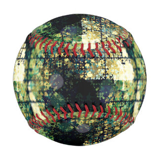 Grunge Geometric Abstract 1 Baseball