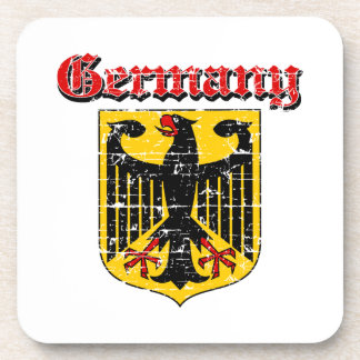 Grunge Germany coat of arms designs Coaster