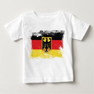 Grunge Germany Flag Tee Shirt