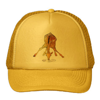 Grunge Giraffe Hat