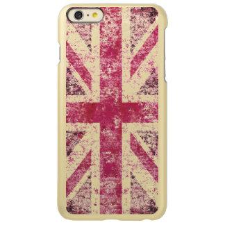 Grunge girly Union Jack Incipio Feather® Shine iPhone 6 Plus Case