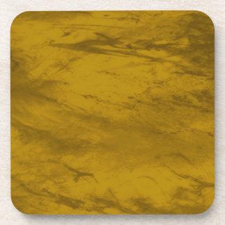 Grunge GOLDEN Coaster