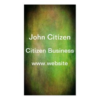 Grunge green colors of the forest with vignette business cards
