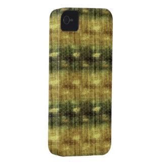 Grunge Green Gold Case-Mate iPhone 4 Case