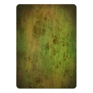 Grunge green leather look texture large business card