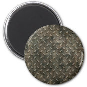 Grunge Grid Magnets