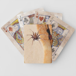 Grunge, Grungy Playing Cards: Spider P&J Sandwich Bicycle Playing Cards