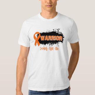 Grunge - GUERRERO - cáncer (anaranjado) del riñón Polera