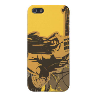 grunge guitar angel dude case for iPhone 5/5S