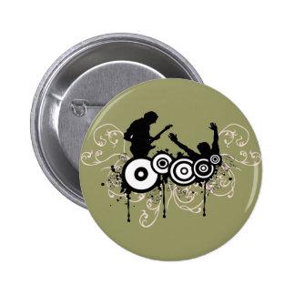 Grunge Guitar Buttons