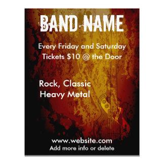 Grunge Guitar Flyer