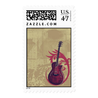 Grunge Guitar Postage