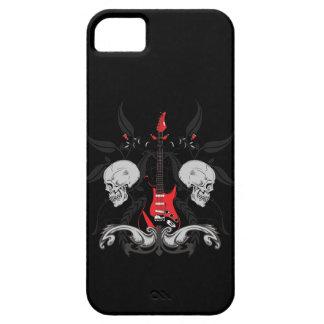 Grunge Guitar Skulls iPhone4 iPhone Case iPhone 5 Cover