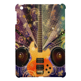 Grunge Guitar with Loudspeakers 2 iPad Mini Cases