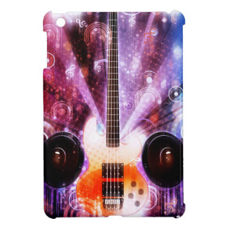 Grunge Guitar with Loudspeakers 3 iPad Mini Covers
