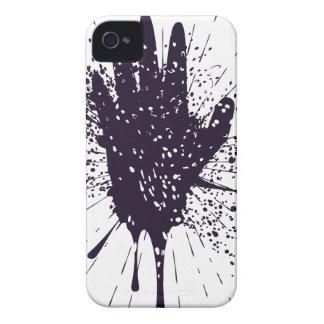 Grunge Hand with Gestures iPhone 4 Case-Mate Case