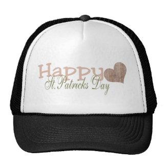 Grunge Happy St. Patrick's Day Trucker Hat