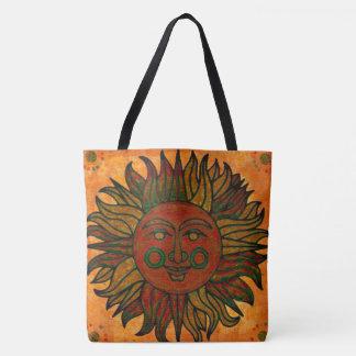 Grunge Harvest New Age Sun Tote Bag